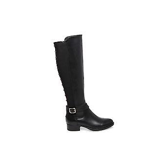 Steve Madden Womens Jadine Cuir Amande Toe Knee High Fashion Boots