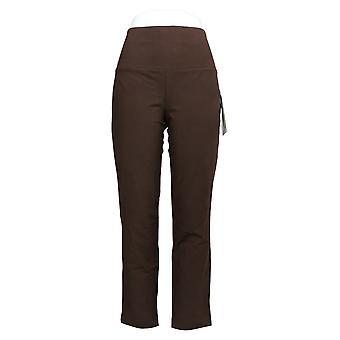 Kvinner med kontroll kvinner & aapos; bukser vanlig magekontroll brun A344734