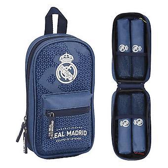 Lyijykynäkotelo Reppu Real Madrid C.F. Leyenda Sininen