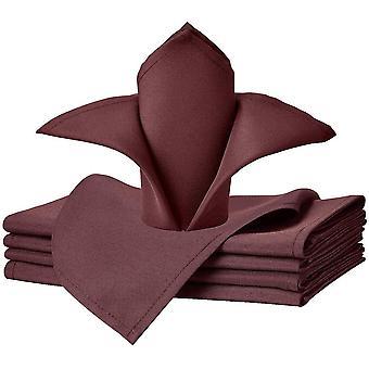 Wokex Servietten aus solidem Polyester, waschbar, fr Hochzeit, Party, Hotel, Restaurant, Abendessen,