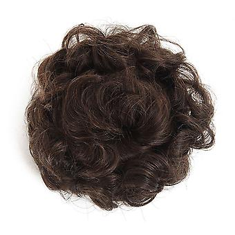 Synthetic Chignon Hair Bun Wig Hairpin