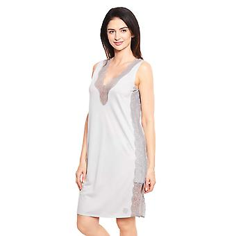 Féraud Couture 3211071-12365 Women's Light Grey Nightdress