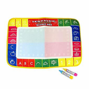 Magic doodle mat educational kids water drawing toys gift kt-18