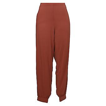 Lisa Rinna Collection Women's Pants Regular Knit Brown A309057