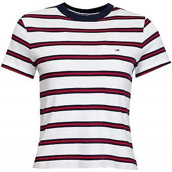 Tommy Jeans Regular Contrast Stripe T-Shirt