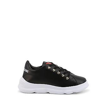 Love Moschino - Schoenen - Sneakers - JA15374G0CJA0-000 - Dames - zwart,rood - EU 40