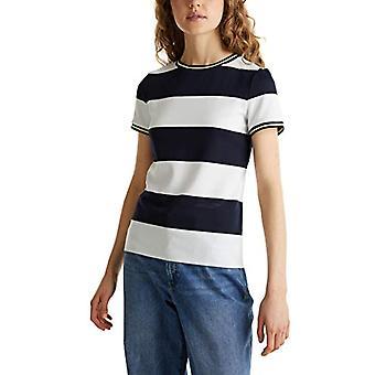 edc av Esprit 030CC1K326 T-Shirt, 400/Navy, XS Women