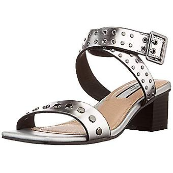 Pepe Jeans Romy Studs 2, Sandals. Woman, 934 Silver, 36 EU