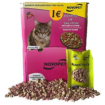 Novopet Hearts for Cats (Cats , Supplements , Treats , Biscuits)