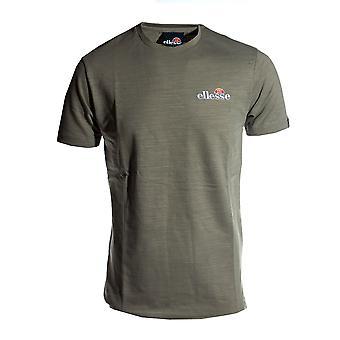 Ellesse Heritage Mille Miesten Retro Muoti T-paita T-paita T-Khaki