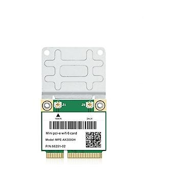 3000 Mbps Wifi 6 trådløst kort Mini Pci-e-kort Bluetooth 5.0 bærbar PC