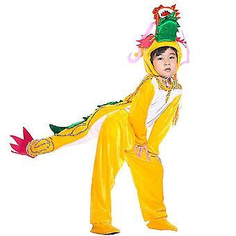 S (110cm) kinesisk drage lang cosplay dress kostyme scene klær ferie klær cai614