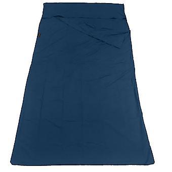 115*210Cm blue household anti dirty sleeping bag, portable liner, ultra-light hotel travel sleeping bag az21594