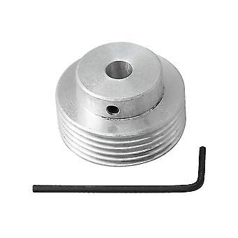 للفضية الألومنيوم 8mm تتحمل Diamater 6 أسنان الفضة PJ حزام بكرة WS262