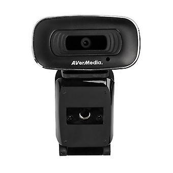 AVerMedia PW310 HD Webkamera Full-HD USB - Svart (PW310)