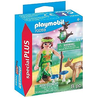 Playmobil Special Plus Fairy With Deer Playset