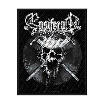 Ensiferum - Skull Standard Patch