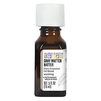 Aura Cacia Essential Solutions Oil, Gray Matter Batter 0.5 Oz
