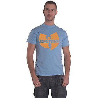 Wu Tang Clan T Shirt Classic Logo new Official Mens Blue