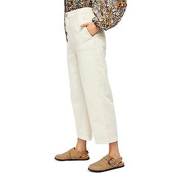Free People Womens Sunday Skies Straight-Leg Jeans