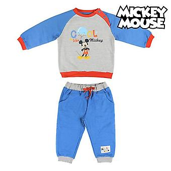 Children's Tracksuit Mickey Mouse 74704 Blue Grey