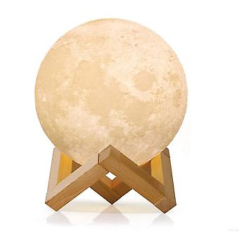 Led Moon Lamp With Touch Sensor