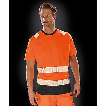 Result Genuine Recycled Mens Safety T-Shirt
