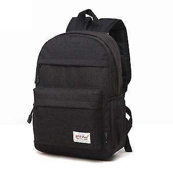Univerzální multifunkční plátno látkový notebook notebook počítač taška poklidný batoh student taška,