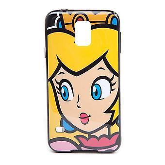 Super Mario Bros. Princess Peach Face Phone Cover für Samsung Galaxy S5