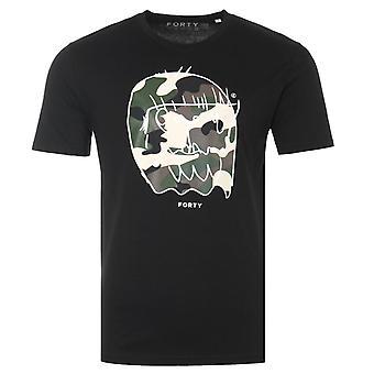Forty Benjamin Original Organic Cotton T-Shirt - Black