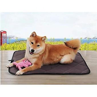 Washable Dog Educator Mat Cleanliness Mat Car Seat Waterproof Puppy Dog Mattress Refresher Mat Bed 45x60cm