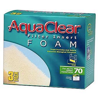 Aquaclear Filter Insert Foam - Size 70 - 3 count