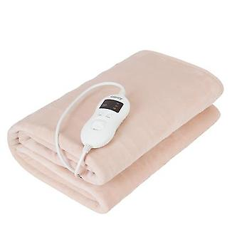 Camry Electric Blanket CR 7423 Number of Heat Levels 8, Number of Persons 1, Washable, Coral fleece, 60 W, Beige