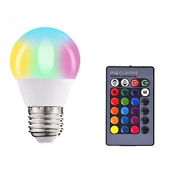 Rgb Bulb Remote Color Changing Led Bulb 10w Rgbw Remote Control Home Decoration