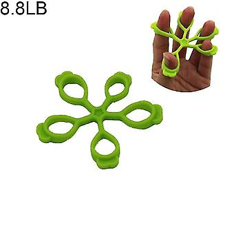 Hand exercisers silicone finger grip training device for palm strength and wrist exercise training green
