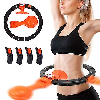 Smart Hula Ring Hoops With 360 Degree Auto-spinning Ball