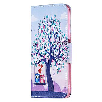 Xiaomi Redmi Note 10 5g Case Pattern Magnetic Protective Cover Owl