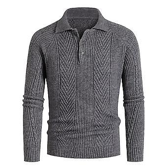 Maili Miesten Jumper Turtleneck Villapaita Basic Pullovers Slim Fit Neuleet