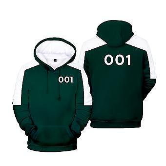 Ywy8 Squid Game Actor's Jacket Hooded Sweatshirt