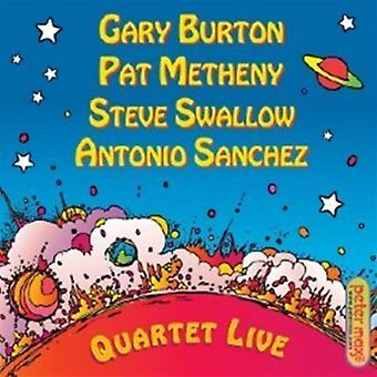 Burton/Metheny/Swallow/Sanchez - Quartet Live! [CD] USA import
