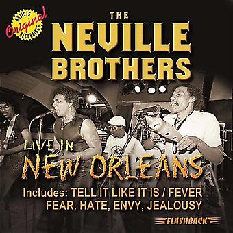 Neville Brothers - Live in New Orleans [CD] USA import