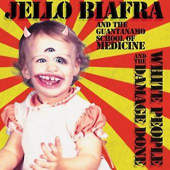 Jello Biafra & de Guantanamo School of Medicine - witte mensen & de schade [CD] USA importeren