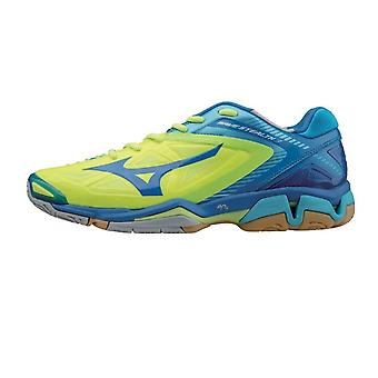 MIZUNO Wave Stealth 3 Indoor-Volleyball-Schuh [gelb/blau]
