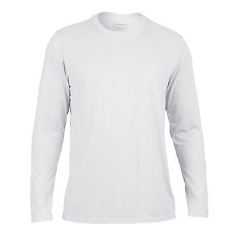 Camiseta de manga comprida de desempenho de esportes Gildan adulto Unisex