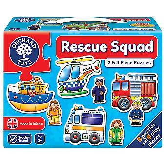 Orchard Rescue Squad 2pc Puzzles