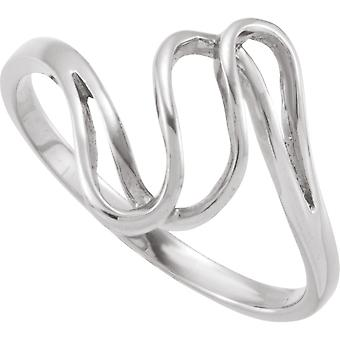 14k White Gold Metal Fashion Ring Size 6 Jewelry Gifts for Women - 2.0 Grams