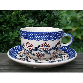 Cup with saucer - ceramic dinnerware - traditional 81 - tea & coffee - BSN 62412
