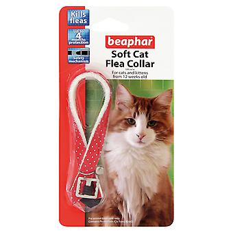 Beaphar Cat Flea Soft Collar Red Sparkle - Valentina Valentti UK