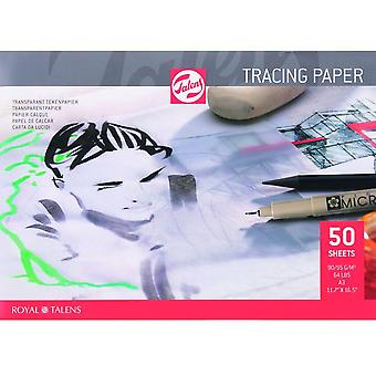 Royal Talens Tracing Paper Pad 90gsm - Sizes Listed