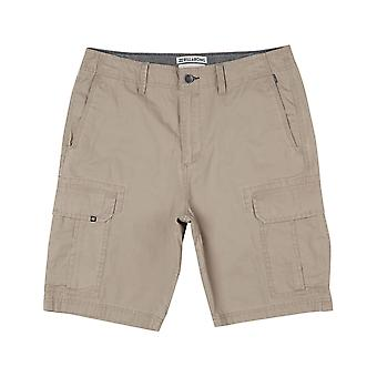 Billabong Scheme Cargo Shorts in Light Khaki